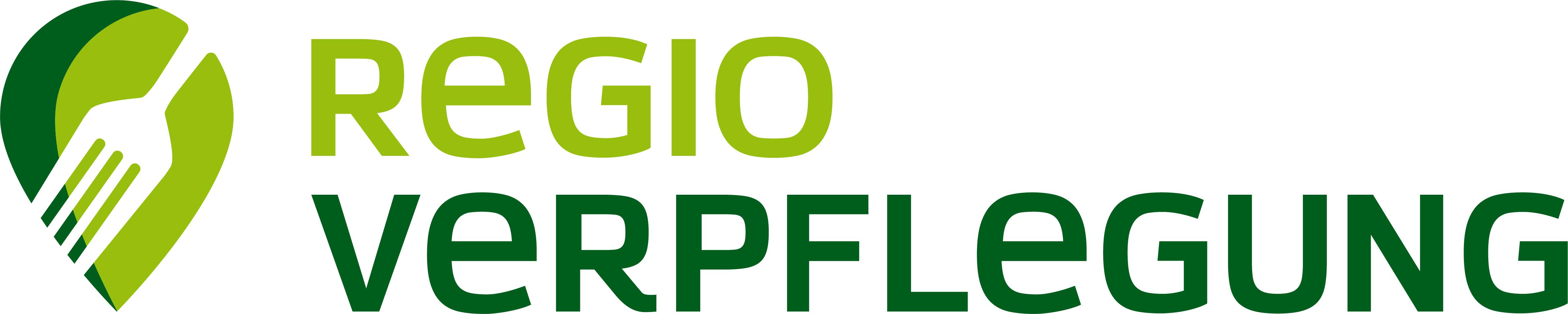 Logo mit stilisierter gabel und lokalisierungs-Pin
