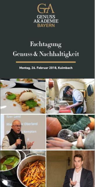 Flyerdeckblatt mit einzelnen Porträts der Hauptakteure der Veranstaltung